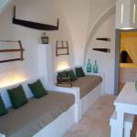 4 posti letto totali for Divani in muratura da esterno